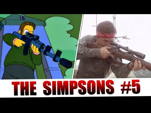 The Simpsons Tribute to Cinema: Part 5