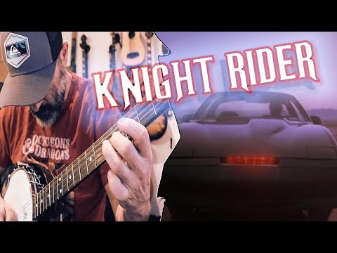 Recreating the Knight Rider theme with REAL instruments!