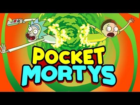 RICK & MORTY GAME - POCKET MORTYS!