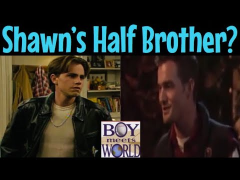 The Mysterious One Off Appearance of Shawn's Brother Eddie | Boy Meets World