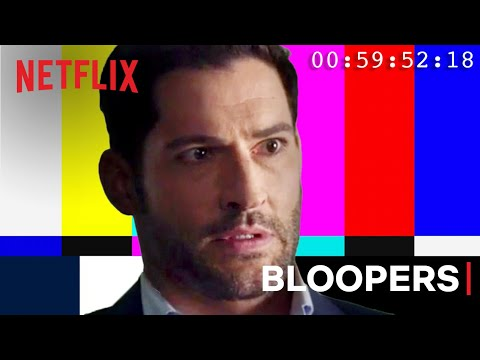 The Best Bloopers from Lucifer   Netflix