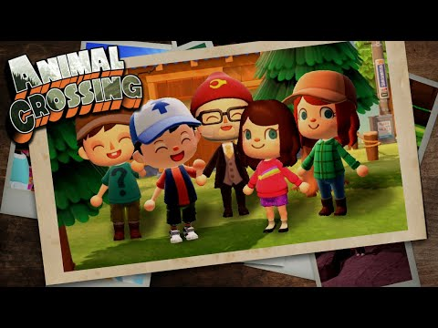 Gravity Falls Intro Made in Animal Crossing