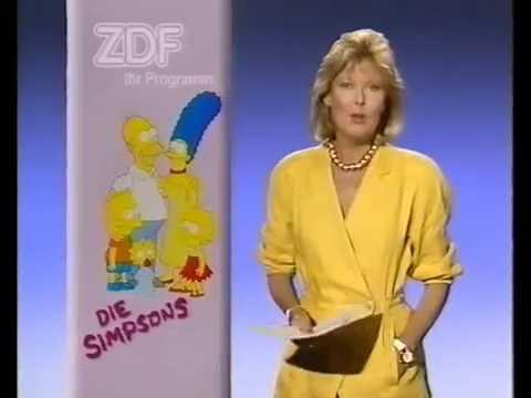 Die Simpsons - Erstausstrahlung im ZDF am 13.09.1991