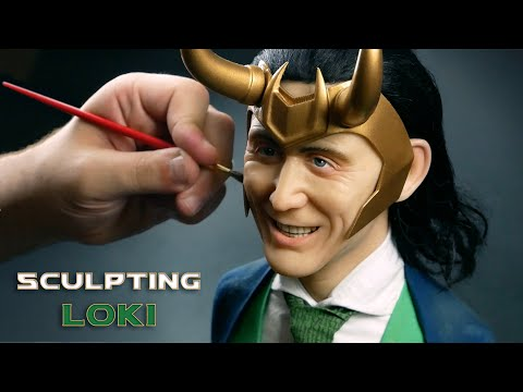 Loki Sculpture Timelapse - Loki