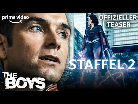 The Boys | Staffel 2 | Offizieller Teaser | Prime Video DE