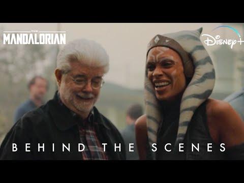 Ahsoka Tano Behind the Scenes Star Wars The Mandalorian   Disney+