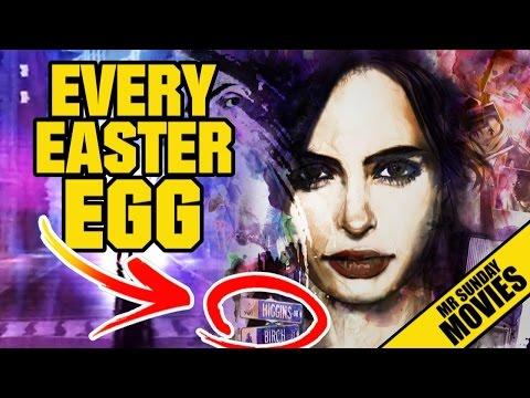 JESSICA JONES - Easter Eggs & References