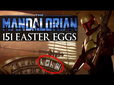 The Mandalorian Season 2 - 151 Easter Eggs