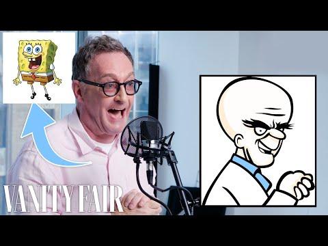 Tom Kenny (SpongeBob) Improvises 5 New Cartoon Voices | Vanity Fair