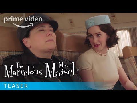 The Marvelous Mrs. Maisel Season 3 Official Teaser   Prime Video