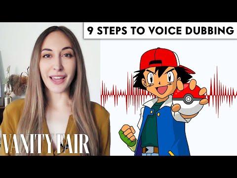 Voice Actor (Ash from Pokémon) Breaks Down Voice Dubbing in 9 Steps | Vanity Fair
