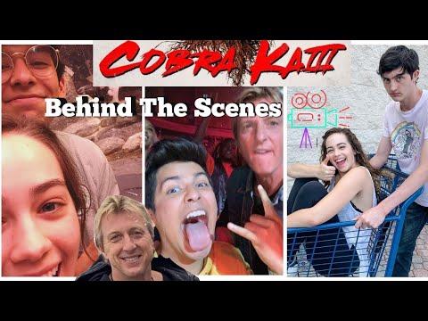 Cobra Kai Season 3 Bloopers   Behind The Scenes   Cast Fun