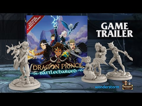 The Dragon Prince: Battlecharged Miniatures Game Trailer