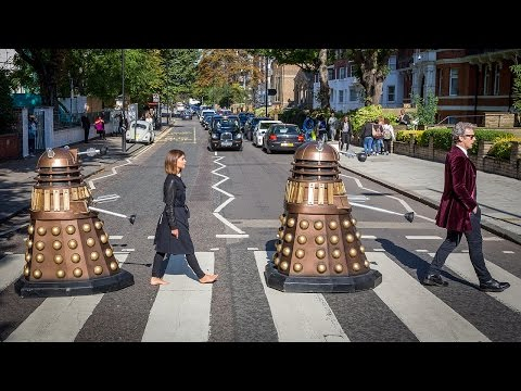 Abbey Road Photoshoot   Doctor Who
