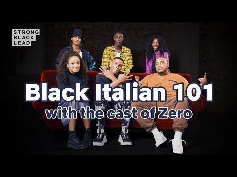 Black [Italian] 101 with the cast of #ZERO 🇮🇹