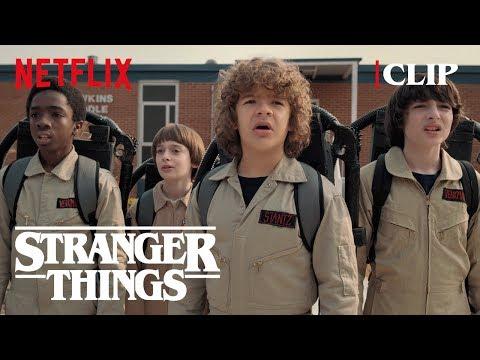 Ghostbuster Scene   Stranger Things 2   Netflix