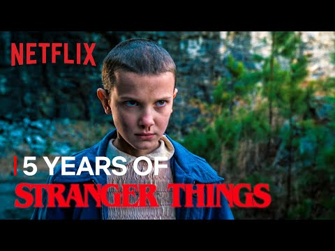 5 Years of Stranger Things | Netflix