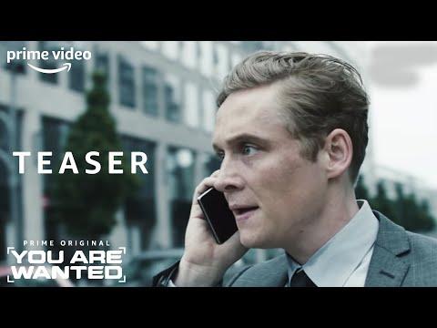 You Are Wanted | Offizieller Teaser | Prime Video DE