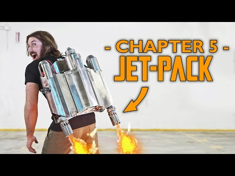 We BUILT a Mandalorian JETPACK! (HACKLORIAN: Chapter 5)