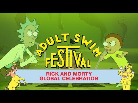 Rick and Morty (Full Panel) | Adult Swim Festival 2020