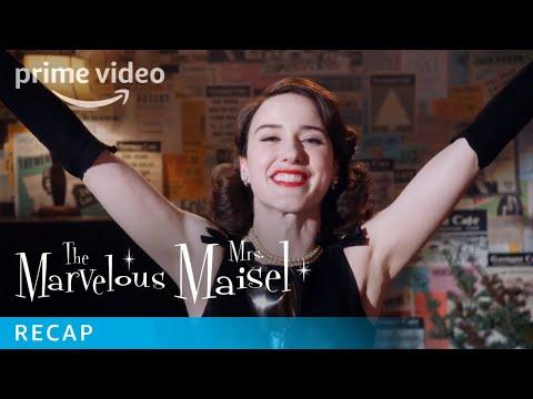 Marvelous Mrs Maisel Episodes Season 1 Recap   Prime Video