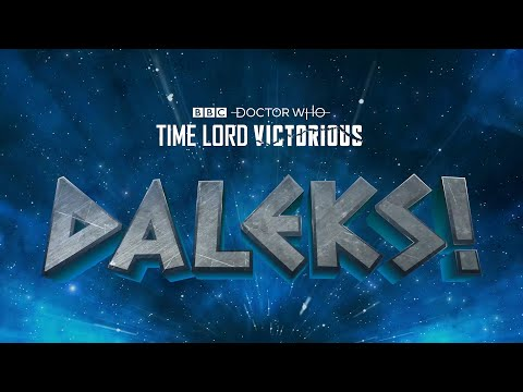 Daleks! Teaser | Time Lord Victorious | Doctor Who
