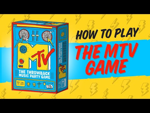 How to play MTV: The Game - The Throwback Music Party Game