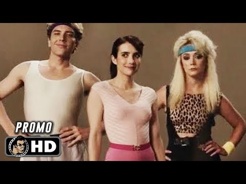 AMERICAN HORROR STORY 1984 Official Cast Promos (HD) Emma Roberts