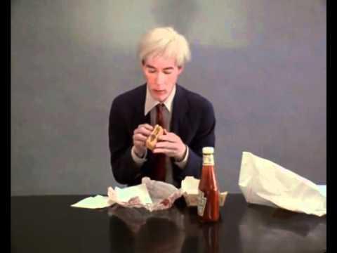 Andy Warhol eating a Cheeseburger.mp4