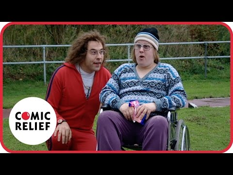 Little Britain's Lou and Andy do Athletics   Comic Relief
