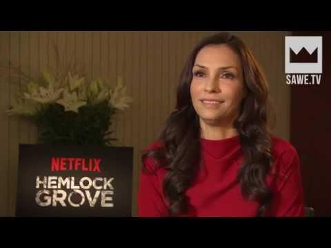 "Famke Janssen: Netflix ""Its pure crack!"""