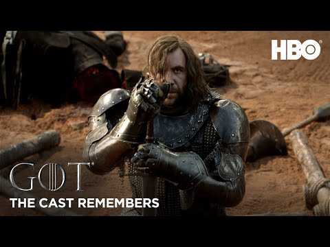 The Cast Remembers: Rory McCann on Playing The Hound   Game of Thrones: Season 8 (HBO)