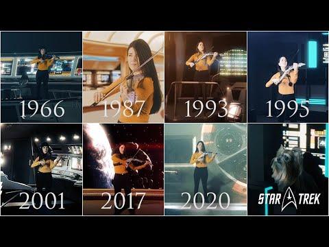 Evolution of Star Trek Series Music Theme (1966-2020)   VioDance