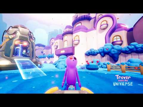 Trover Saves the Universe: Full PAX West Demo PS4 Gameplay