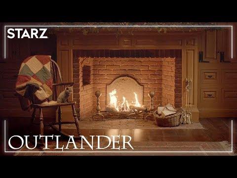Outlander | Fraser's Ridge Yule Log | STARZ