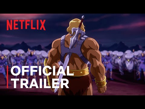 Masters of the Universe: Revelation Part 1   Official Trailer   Netflix