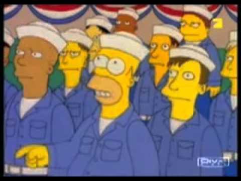 "Homer Simpson ""Nukular. Das Wort heißt nukular."""