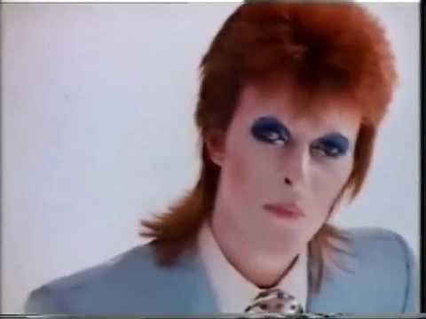 David Bowie Original colour video Life On Mars ,HQ sterio & picture enhanced
