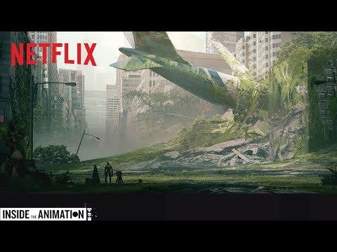 LOVE DEATH + ROBOTS | Inside the Animation: Three Robots | Netflix