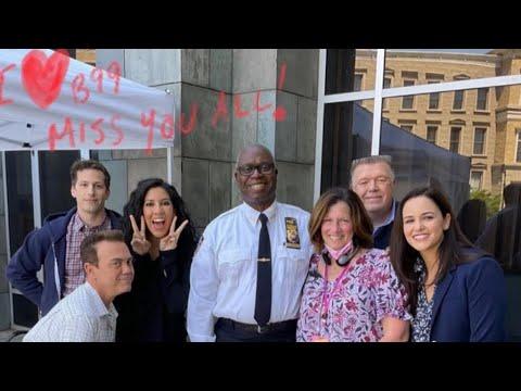 The Cast Say Goodbye To Brooklyn 99 | Brooklyn 99 Season 8 Behind The Scenes Week 11