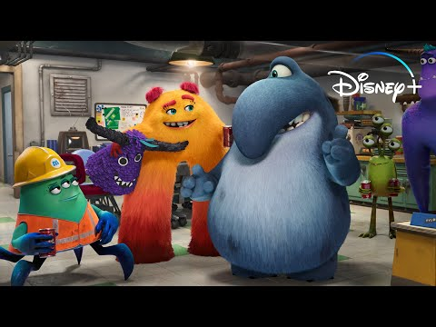 Meet the Characters of Monsters at Work | What's Up, Disney+