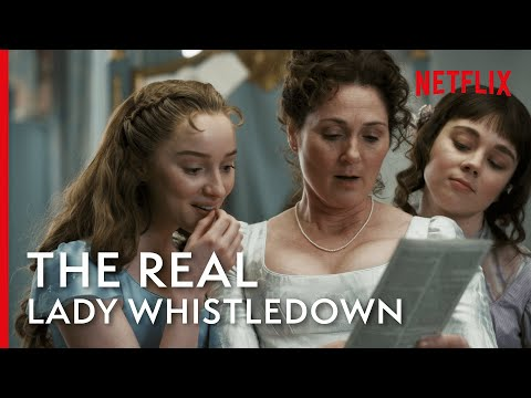 The Story Of A Real Life Lady Whistledown | Bridgerton