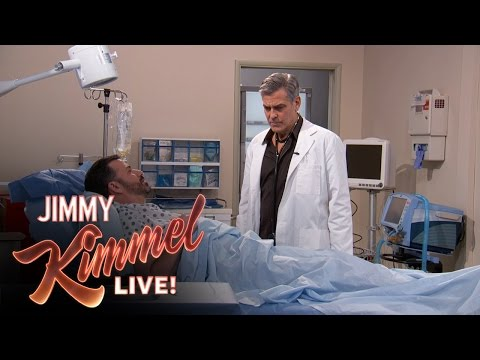 """""""E.R."""" Cast Reunion with George Clooney and Jimmy Kimmel"""