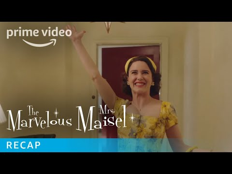 The Marvelous Mrs Maisel   Season 2 Recap   Prime Video