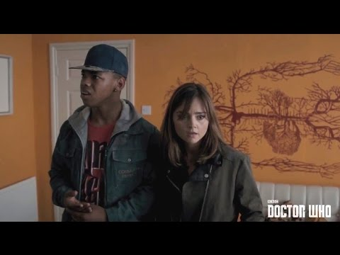 Keep away from the walls!   'Flatline' preview   Doctor Who Series 8   BBC