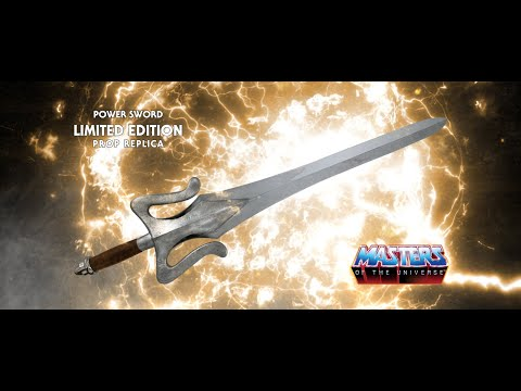 Masters Of The Universe - Power Sword Limited Edition Prop Replica Reveal Video