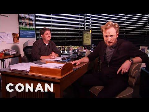Conan Meets His Censor | CONAN on TBS