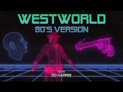 Westworld TV RETRO Intro
