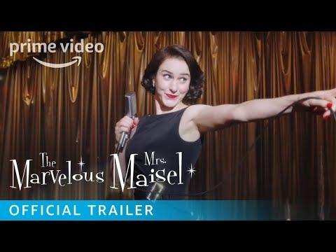 The Marvelous Mrs. Maisel Season 3 - Official Trailer   Prime Video