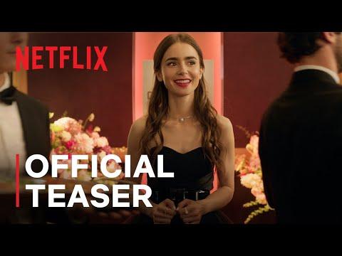 Emily in Paris   Official Teaser & Date Announce   Netflix